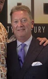 Frank Warren (promoter) boxing promoter