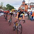 Frank Wiersma- Robert Gesink-Berden de Vries in de Profronde van Surhuisterveen 2015 R.Gesink was 2de.JPG