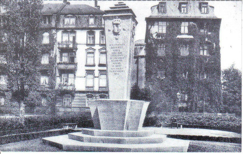 File:Frankfurt-Bockenheim, Husarendenkmal, ehemaliger Standort.jpg