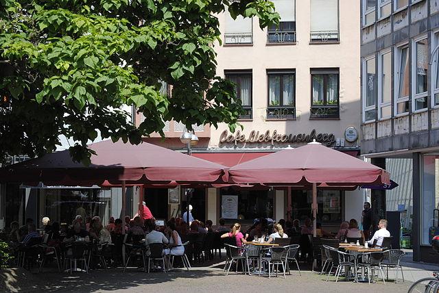 Liebfrauenberg Cafe Frankfurt