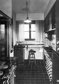 The Frankfurt kitchen was designed after Taylorist principles.