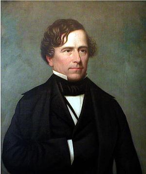 English: Portrait of President Franklin Pierce