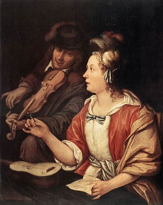 Frans van Mieris the Elder - The Music Lesson, National Museum of Serbia, Belgrade