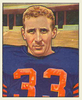 """Fred """"Curly"""" Morrison Player of American football"""