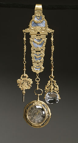 French - Chatelaine with Watch - Walters 5816