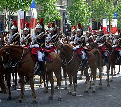 French Republican Guard cavalry DSC03152