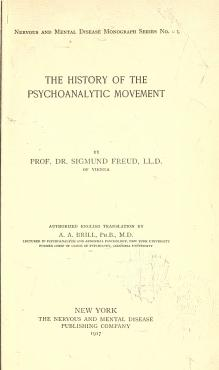 Freud - The history of the psychoanalytic movement.djvu