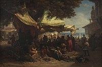 Friedrich Alois Schönn - Markt von Konstantinopel - 7715 - Kunsthistorisches Museum.jpg