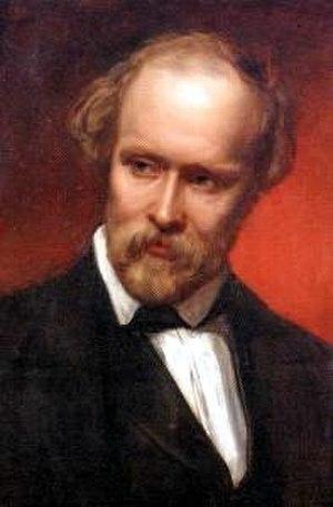 Christian Friedrich Hebbel - Portrait (1851) by Carl Rahl