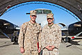 From recruit training to Afghanistan, Marine promotes former recruit 131001-M-CT526-044.jpg