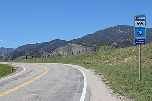 Colorado State Highway 96 - Image: Frontier Pathways Scenic and Historic Byway