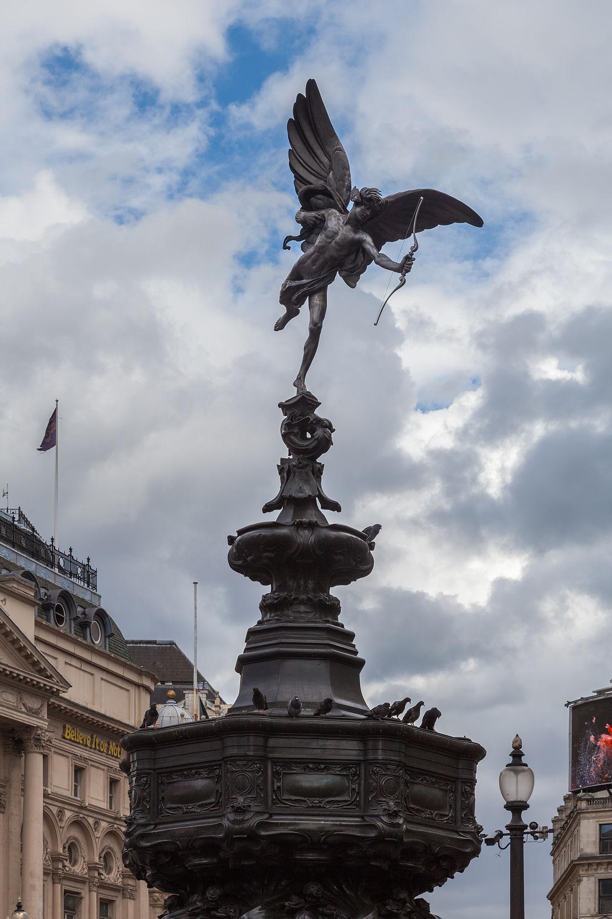 Shaftesbury Memorial Fountain - Wikipedia