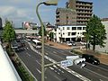 Fukuoka Prefectural Road No.50 from Tobata Station Entrance Footbridge (east).JPG