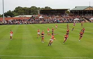 Thebarton Oval - The first AFL Women's game played in Adelaide, round 1 2017