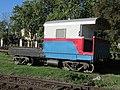 Furgón de cola en la estación Chascomús.jpg
