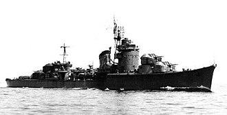 Japanese destroyer Fuyutsuki - Fuyutsuki