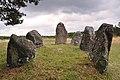 Gålrums gravfält skeppssättningar Alskog 9 1 Gotland 2015.jpg