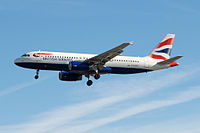 G-EUUT - A320 - British Airways