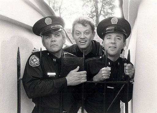 G.W. Bailey, David Graf, Lance Kinsey