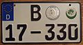 GERMANY, BERLIN, US CONSULATE, 2000's -LICENSE PLATE - Flickr - woody1778a.jpg
