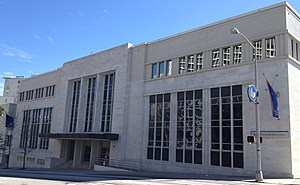 Municipal Auditorium (Atlanta) - GSU Dahlberg Hall, 2012