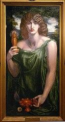 Dante Gabriel Rossetti: Mnemosyne