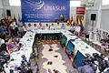 Galapagos - Ecuador 23 de Mayo del 2014. Rueda de Prensa de la sesión de trabajo de la Reunión de Ministras y Ministros de Relaciones Exteriores de Los países miembros del UNASUR. (14068352759).jpg
