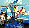 Ganadoras Categoría Profesional del campeonato de Surf Trucos Analog Pichilemu, Air and Style 2012.jpg