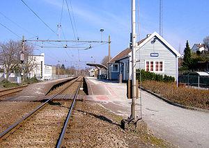 Jæren Commuter Rail - Ganddal Station