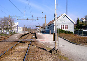 Jæren Commuter Rail - Ganddal Station