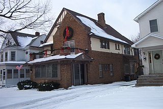 Gang House (Syracuse, New York) United States historic place