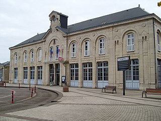 Gare de Dole-Ville railway station in France