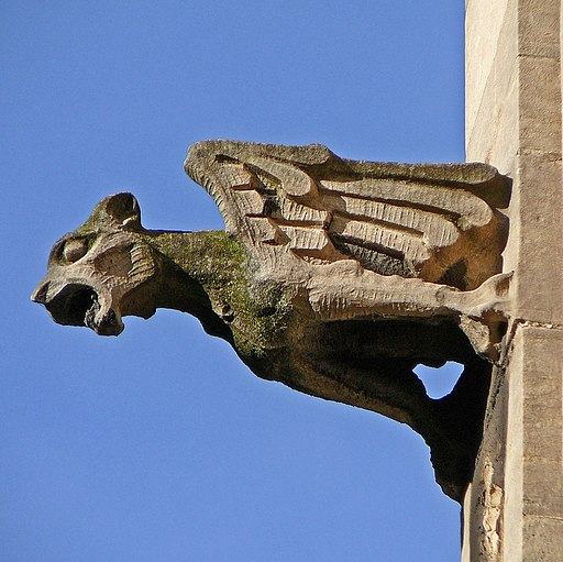 Gargoyle, St Mary, Castlegate, York (3345244442)