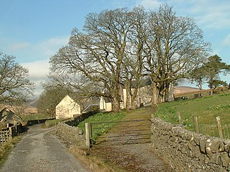 Sir Robert Grierson, 1st Baronet - The farm of Garryhorn in Carsphairn parish, one of the lands belonging to Grierson of Lag's estate, and which was used by him and his dragoons as a base from which to conduct their searches for illegal conventicles.