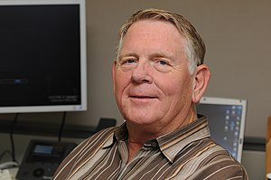 Laser printing - Gary Starkweather invented the laser printer (2009 photo)