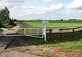 Gated private farm track - geograph.org.uk - 1516885.jpg