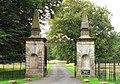 Gateway at Okeover Hall - geograph.org.uk - 953543.jpg