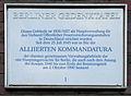 Gedenktafel Kaiserswerther Str 16-18 (Dahl) Alliierten Kommandatura.JPG