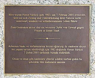 Honor killing of Hatun Sürücü German murder victim
