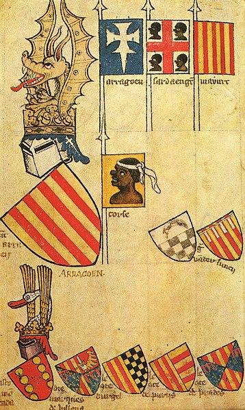 Emblemas Corona de Aragón 358px-Gelre_Folio_62r