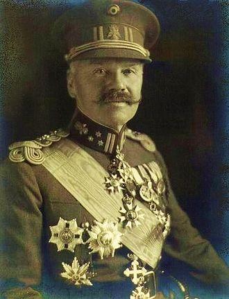Croix de guerre (Belgium) - Lieutenant General Baron Jules Jacques de Dixmude, a recipient of the WW1 Croix de guerre