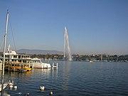 Genebra nos dias de hoje, uma das cidades mais ricas do mundo
