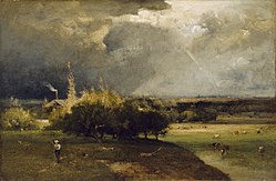 George Inness: The Coming Storm