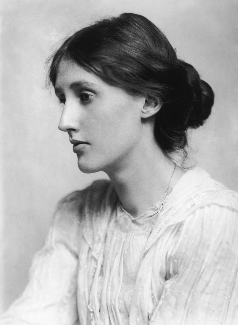 Photograph of Virginia Woolf in 1902; photograph by George Charles Beresford