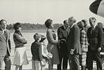 Gerald Ford deplaning at Patrick Henry Airport before third debate10.jpg