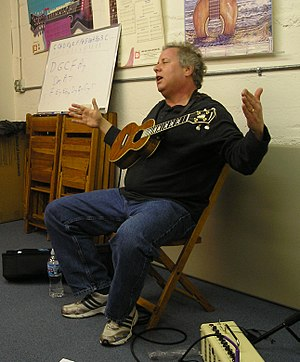Gerald Ross - Ross conducting a workshop