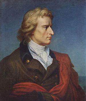 Friedrich Schiller - Portrait of Friedrich Schiller by Gerhard von Kügelgen