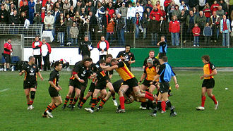 Rugby union - Germany playing Belgium