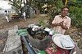 Ghanashyam Misra - Litti Vendor - Padmapukur Water Treatment Plant Road - Howrah 2018-03-24 0200.JPG