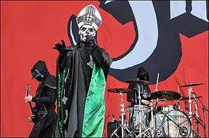 Infestissumam - Ghost performing in Spain at the Sonisphere Festival, 2013